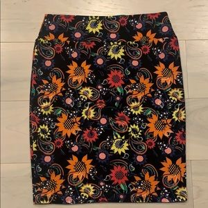 EUC LuLaRoe Cassie Pencil Skirt Sz.XL Knee Length